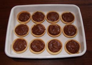 Choccy tarts