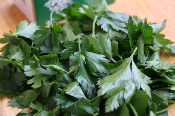 Packed with parsley